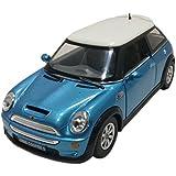 Kinsmart Mini Cooper S 1:28 Scale Diecast Car, Multi color