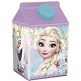 BINO-VETRO-PLUS A.S. Bankett Flaschen mit eckigen Getränken Frozen FLORAL 500 ml