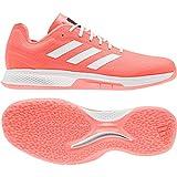 adidas Counterblast Bounce, Chaussure de Handball Homme, Signal Coral/Silver Met./FTWR White, 41 1/3 EU