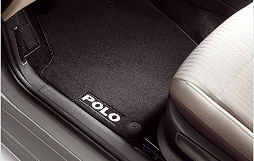Preisvergleich Produktbild Original Volkswagen VW Ersatzteile Polo 6R Original Premium Velours Fußmatten, vorn+hinten