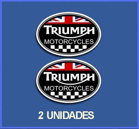 Ecoshirt 7H-NYVT-WZRR Pegatinas Stickers Triumph Ref: DP245 Aufkleber Autocollants Adesivi Moto Decals,...