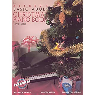 Alfred's Basic Adult Course Christmas, Bk 1 (Alfred's Basic Adult Piano Course)