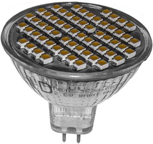 GU5.3 led warmweiss MR16 12 ~ 17V AC/DC 310lm Reflektor Spot für Einbauleuchten Strahler ac dc Wohnmobil