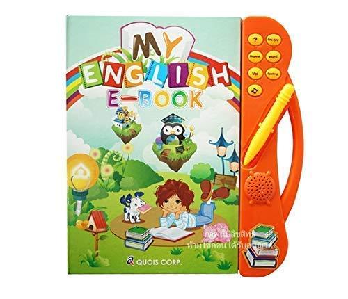 Techhark My English E-Book/ English Reading/ Study Guide/ ABC Learning E-Book/ Sound Book