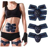 Electroestimulador Muscular Abdominales Masajeador Eléctrico Cinturón, Abdomen / Brazo / Piernas / Cintura Entrenador Muscular