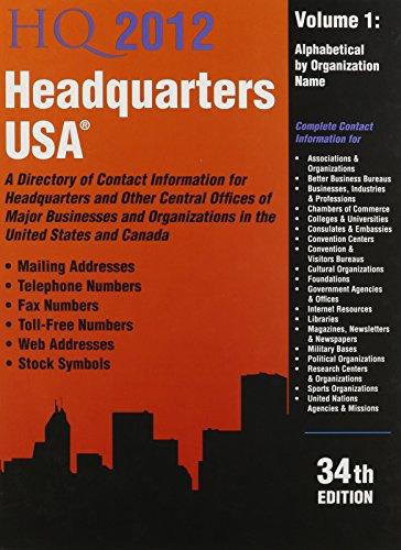 Headquarters USA 2012 (Headquarters USA (2v.))