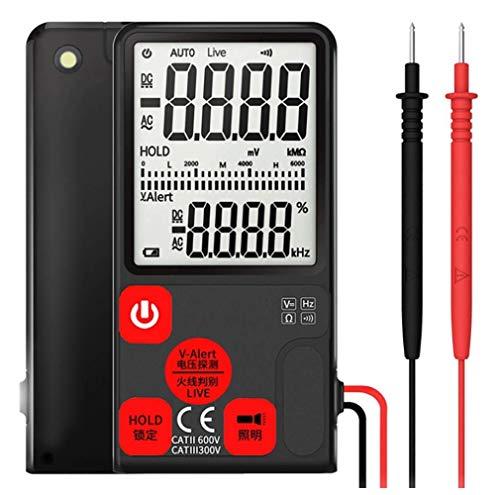 Multimeter, Tragbare Handheld-Großbild-Display Intelligente Automatische Verschiebungsfreie Ultradünne Digitale Multimeter, Zählprüfer Berührungslose Spannungserkennung