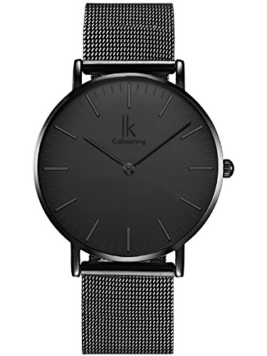 alienwork-ik-all-black-quarz-armbanduhr-elegant-quarzuhr-uhr-modisch-zeitloses-design-klassisch-schw