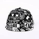 Unisex Cap, Familizo Men Brim Adjustable Baseball Cap Snapback Hip-hop Hat (Free Size, Black)