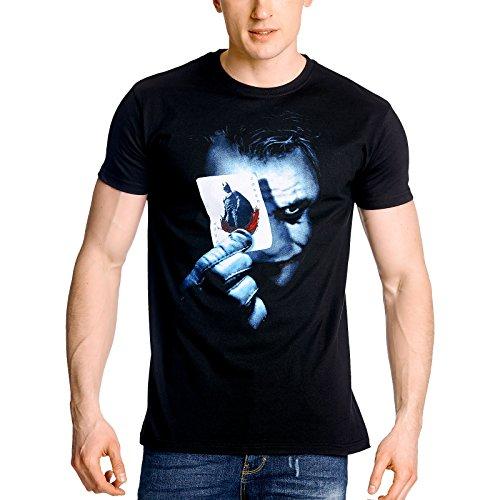 Batman: El caballero oscuro - Camiseta Joker - Negro - XL
