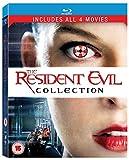 Resident Evil (*) / Resident Evil: Afterlife / Resident Evil: Apocalypse / Resident Evil: Extinction - Set [Blu-ray] [UK Impo