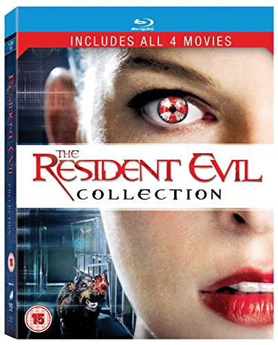 Resident Evil (*) / Resident Evil: Afterlife / Resident Evil: Apocalypse / Resident Evil: Extinction - Set [Reino Unido] [Blu-ray]