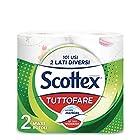 Scottex Tuttofare, Due Lati Diversi, 2 Maxi Rotoli