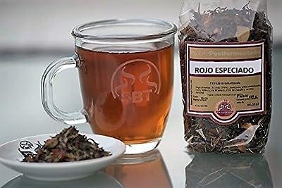 Le thé rouge Pu erh Chine Yunnan dans especiado de Hebra sac 100 g. - Thé rouge Pu erh à la cannelle, le gingembre, le zeste d'orange et arôme naturel - recommandé pour aider à perdre du poids - Devoragrasas - Idéal pour prendre du lait