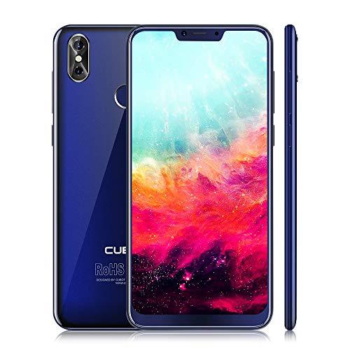 "CUBOT P20 Smartphone 4G LTE ohne Vertrag Phablet mit 6,18"" IPS Bildschirm, 20 MP Rückkamera, Dual SIM Standby, Android 8.0, 4GB RAM + 64GB ROM, Bluetooth 4.0 / GPS/WLAN (Blau)"