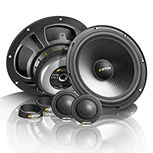 tomzz Audio 4039-000 Lautsprecher Einbau-Set f/ür Opel Corsa B C Tigra Vivaro Renault Traffic 165mm Koaxial System TA16.5-Pro