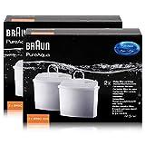 Braun PureAqua Wasserfilterkartusche BRSC006 - Wasserfilter (2er Pack)