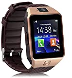 #6: Trigent Smartwatch_Dz09_3 Bluetooth Smart Watch With Camera For All 3G,4G Phones (Brown)