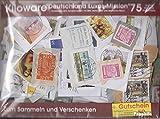 Prophila Collection Deutschland 75 Gramm Kiloware Deutschland mit mindestens 50% Sondermarken (Briefmarken für Sammler)