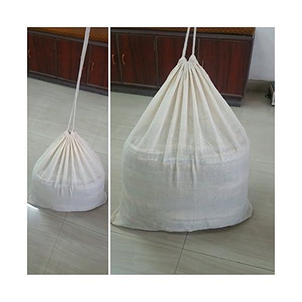 Bell Tent Half Moon Rag Rugs 6