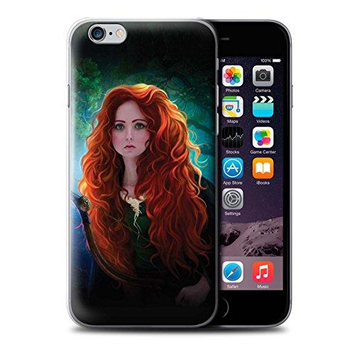 Officiel Elena Dudina Coque / Etui pour Apple iPhone 6S+/Plus / Princesse Design / Caractère Conte Fées Collection Princesse