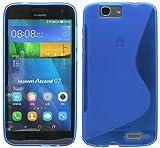 S Line TPU Custodia Protettiva per Huawei Ascend G7Custodia in silicone in blu @ Energmix
