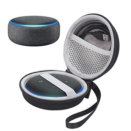 NiceCool Hardcase Echo Dot (3. Gen) Smart Speaker mit Alexa Schutztasche