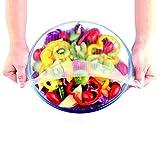 Copertura in silicone, riutilizzabile, per coprire contenitori di cibo (confezione da 4)