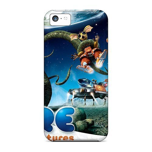 Faddish Phone Spore Galactic Adventures Game Cases For Iphone 5c / Perfect...