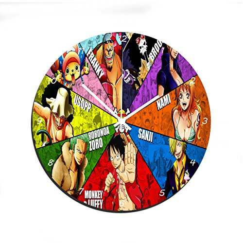 Reloj de Pared - One Piece 2 Years Later en Vidrio