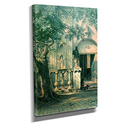 bierstadt-sunlight-and-shadow-kunstdruck-auf-leinwand-40x60-cm-zum-verschonern-ihrer-wohnung-verschi