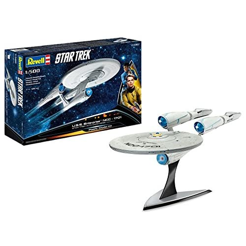 Revell- U.S.S. Enterprise Into Darkness Maqueta Astronave Star Trek, 10+ Años, Multicolor (04882) 2