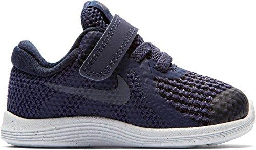 Nike Revolution 4 (TDV), Zapatillas de Estar por Casa Bebé Unisex, Azul (Neutral Indigo/Light Carbon/Obsidian 501), 18.5 EU