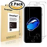 [2-Pack] Pellicola Vetro Temperato iPhone 7, iVoler® ** [Protezione Antigraffi] **Anti-riflesso ...