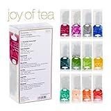 Ronnefeldt Joy of Tea Box, Tee Probierset / Tee Geschenk 'Twelve Delights' mit 12 Aufgussbeuteln zum...
