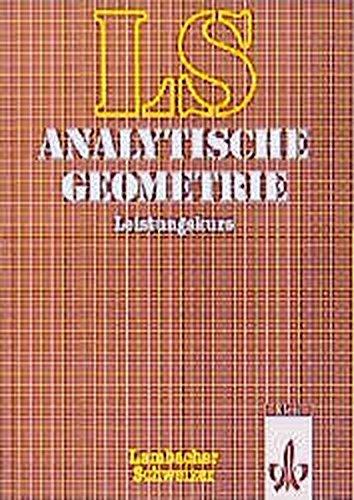 Lambacher Schweizer - Themenhefte: Lambacher-Schweizer, Analytische Geometrie, Leistungskurs