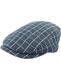Broner Plaid 100% Cotton Ivy Cap (X-Large) d4a9fe063376