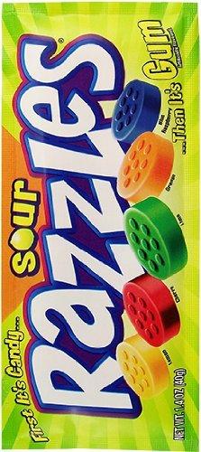 Sour Razzles 1.4 OZ (40g)