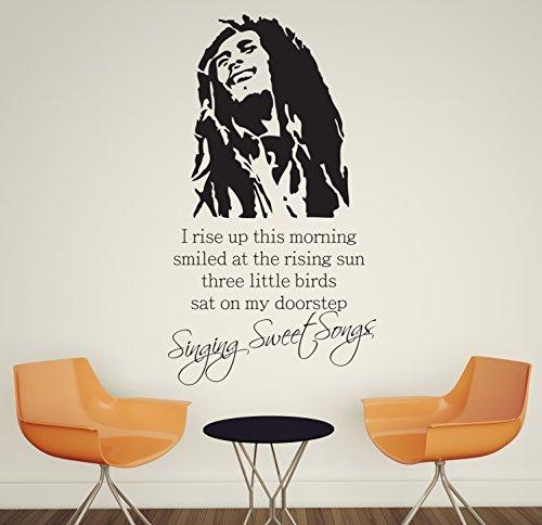 V y C diseños grande Bob Marley cantar canciones Sweet todo del...