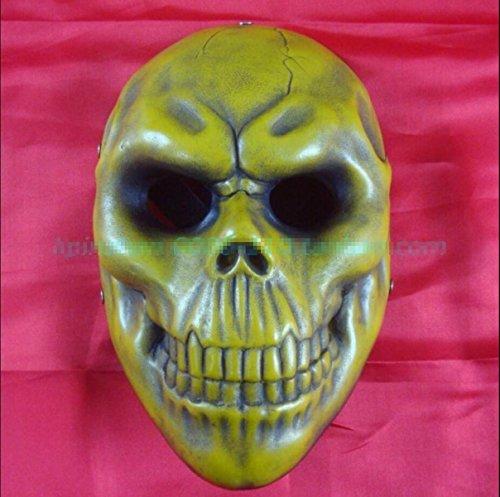 Schädel Schädel Maske Zahltag Halloween Horror Kleid Demon Requisiten Teufel Zusammenleben,A1