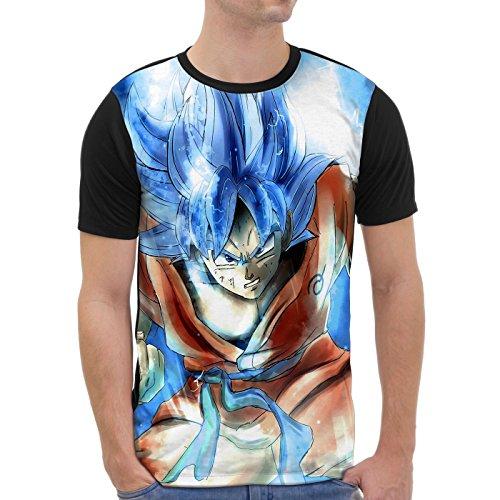 VOID Goku Camiseta gráfica para Hombre T-Shirt...