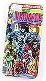Inhumans DC Marvel Super-héros Comic Coque Vintage pour iPhone 4/4s Coque en plastique rigide Coque Transparent