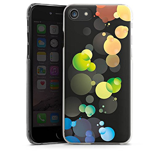Apple iPhone X Silikon Hülle Case Schutzhülle Blasen Punkte Muster Hard Case transparent