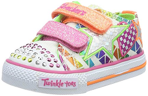Skechers Shuffles Daisy Dotty, Baskets Basses fille