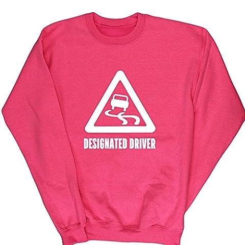 HippoWarehouse Designated Driver kids children's unisex jumper sweatshirt pullover