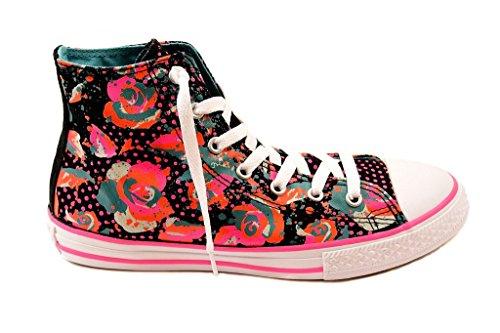 Hi 1 All Sta Neon Floral 5 (Floral Mädchen Converse)