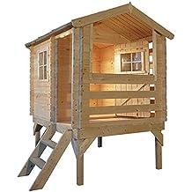 Casitas de madera infantiles - Caseta madera infantil ...
