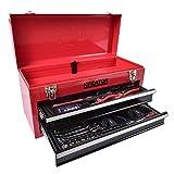 Kreator krt951010Werkzeugkoffer schwarz, rot Werkzeugkiste