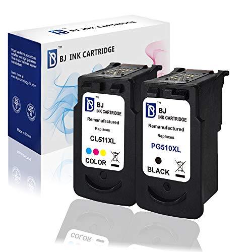 BJ 2 Patronen für Canon PG-510XL & CL-511XL IP2700 MP230 MP240 MP250 MP260 MP270 MP280
