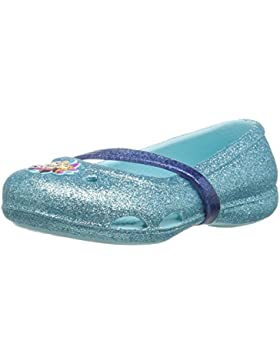 crocs Mädchen 204454 Closed-Toe Ballerinen